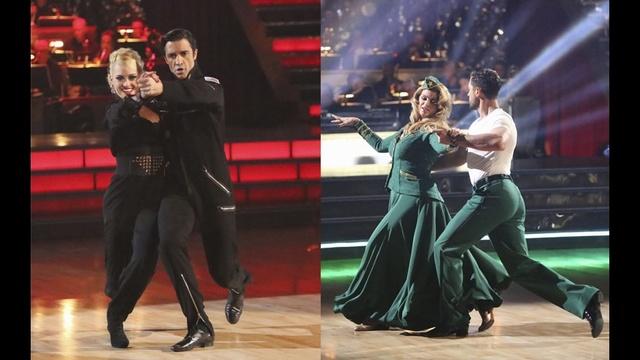 Peta Murgatroyd & Gilles Marini and Kirstie Alley & Maksim Chmerikovskiy perform on the eighth week of