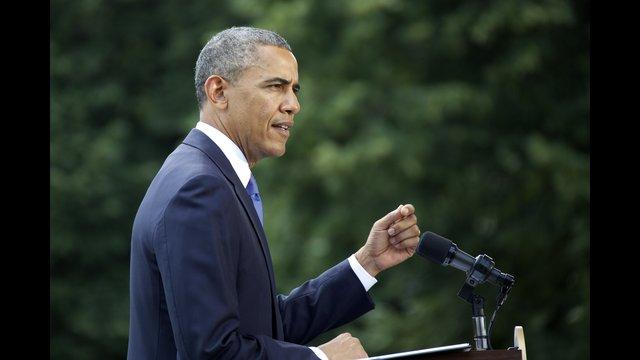 President Barack Obama said Friday, June 13, 2014, that the United States