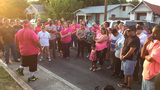 Family, friends hold vigil for slain drag queen