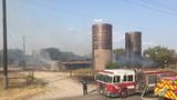 Grass fire mobilizes 20 SAFD units