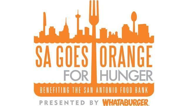SA Goes Orange for Hunger