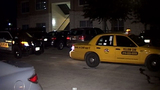 Cab driver stabbed in neck