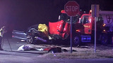 Wrong-way driver collides with 18-wheeler, dies