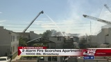 2-alarm fire heavily damages North Side apartment complex