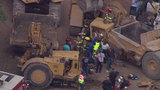Man pinned when graders collide in NW Bexar construction accident