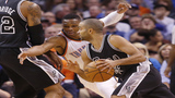 Spurs, Thunder, begin epic series on Saturday
