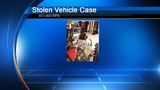 Man sought after stealing vehicle with child inside