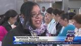 Woman returns to Raul Jimenez Thanksgiving Dinner as volunteer