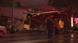 Weather suspected cause in building collapse