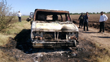 Mexico: Burned-out van found in cartel region belonged to missing…