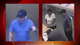 Man, woman wanted for stealing credit cards at The Rim