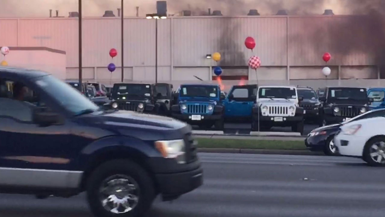 North Star Dodge >> Video Shows Flames Coming From North Star Dodge Service Bay
