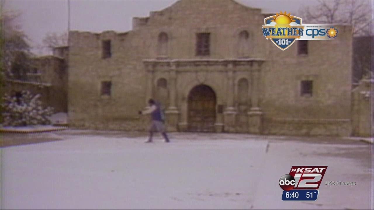 Weather 101 Rare 1985 San Antonio Snow Storm