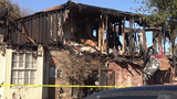10 people displaced after fire tears through NW side home