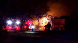 Southeast Bexar County couple rescued after fire spreads to home