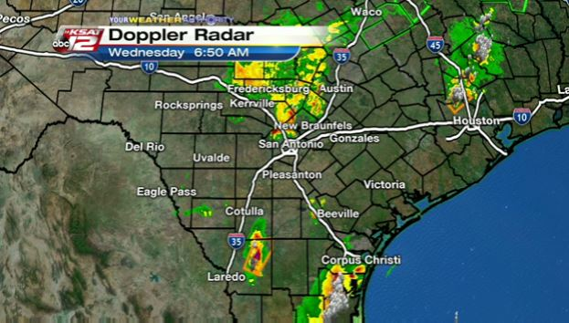 San Antonio Weather Map Radar.Ksat Weather Severe Storms Rip Through South Texas Overnight