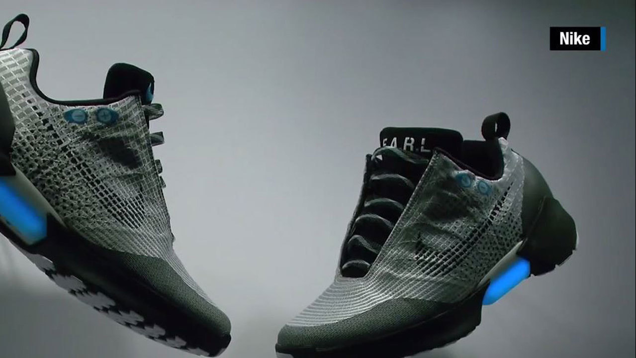 Self Lace Shoes By Nike