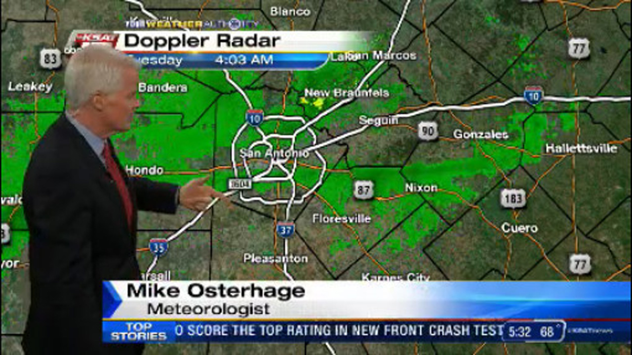 Ksat Weather Early Fog And Mist Tuesday Could Lead To Showers