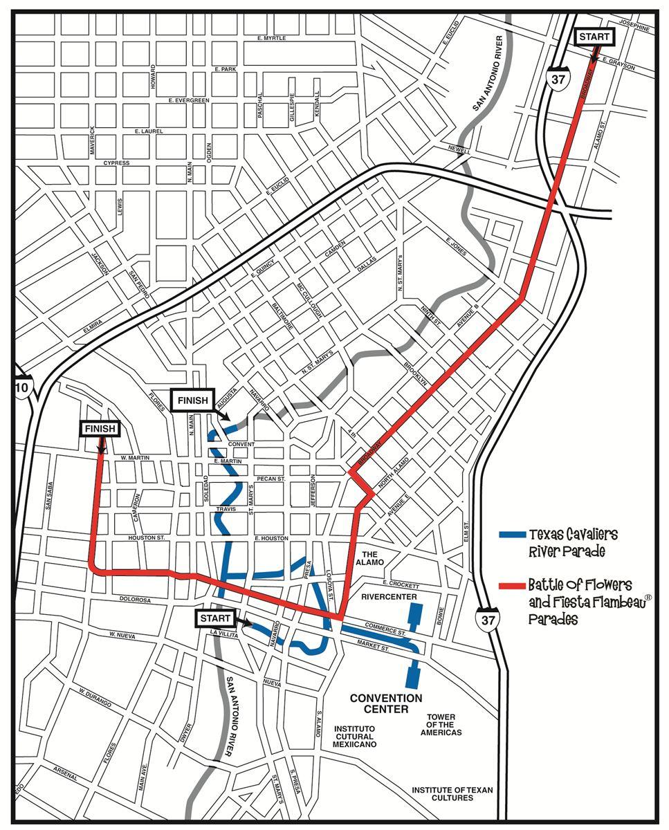 San Antonio Ready For 125th Anniversary Battle Of Flowers