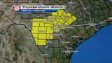 Severe thunderstorm watch for San Antonio, surrounding counties until 3 a.m.