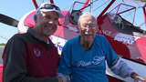 103-year-old veteran flies with nonprofit Ageless Aviation