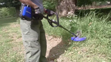 String trimmers tested against weeds