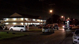 Man shot, killed by police had been acting strangely, motel guest says