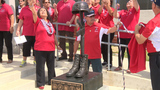 Edgewood ISD unveils monument in honor of fallen heroes