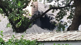 Lightning to blame for house fire on North Side