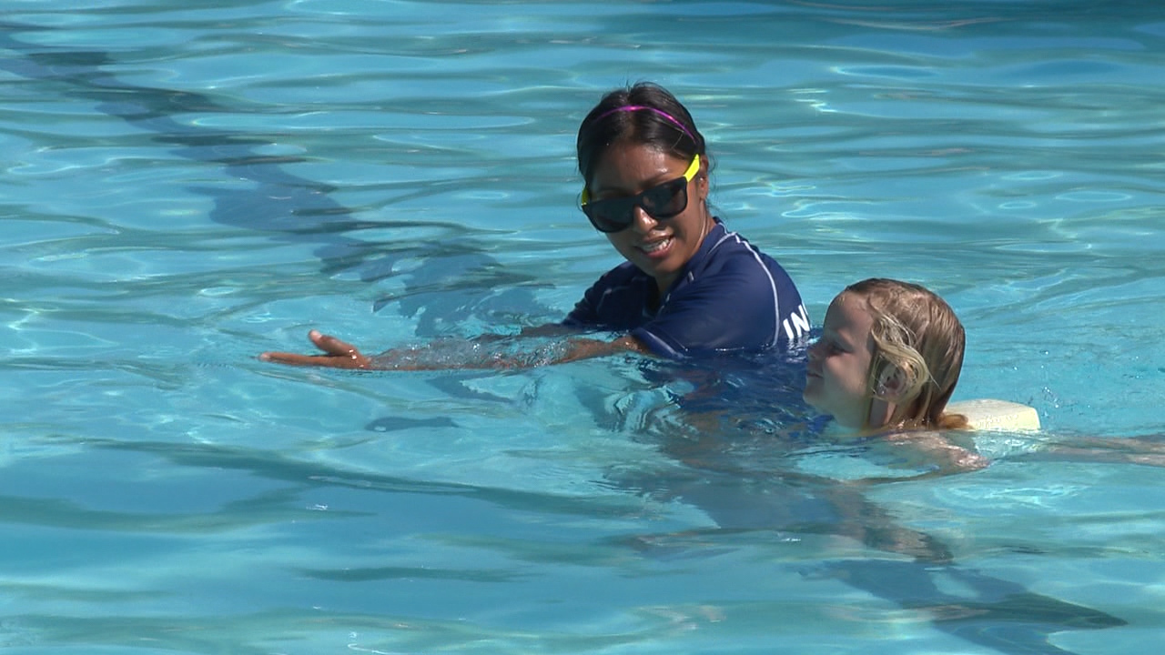 Swim Lessons Supervision Key To Water Safety