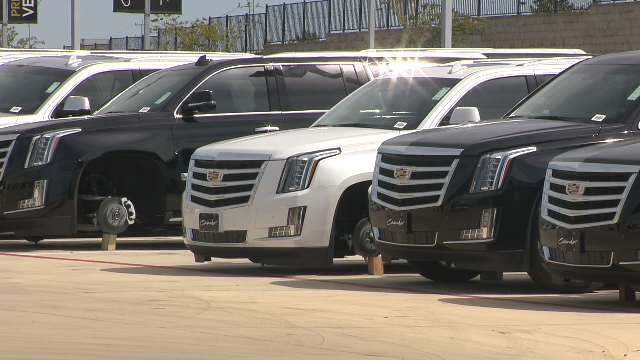 Cadillac San Antonio >> Police: Recent car dealership theft may be connected to other...