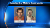 SAPD arrests 2 people accused of counterfeiting money