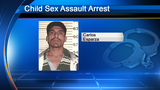 Man arrested for sexually assaulting 7-year-old girl, authorities say