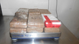 $214,540 in cocaine seized at Laredo bridge