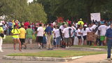 Hundreds turn out for pilgrimage, outdoor Mass for World Youth Day