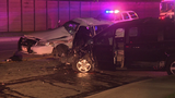 Wild pursuit ends in crash involving sheriff's deputy
