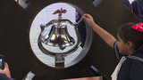 SAFD delivers cancer bell for kids who complete treatment