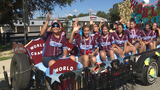 Celebration held to congratulate World Series Little League softball champions