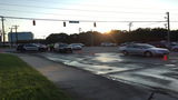 Pedestrian hospitalized after being hit by 2 vehicles, police say