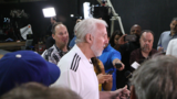 Gregg Popovich speaks about national anthem protests during Spurs media day