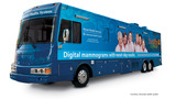 University Health System mobile mammography bus offering free exams