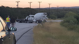 Pickup truck driver killed in head-on collision with cement truck