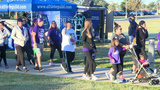Hundreds attend Purple Run to stand against domestic violence
