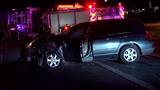Drivers leave head-on collision unharmed