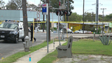 Man shot in upper body while waiting at bus stop