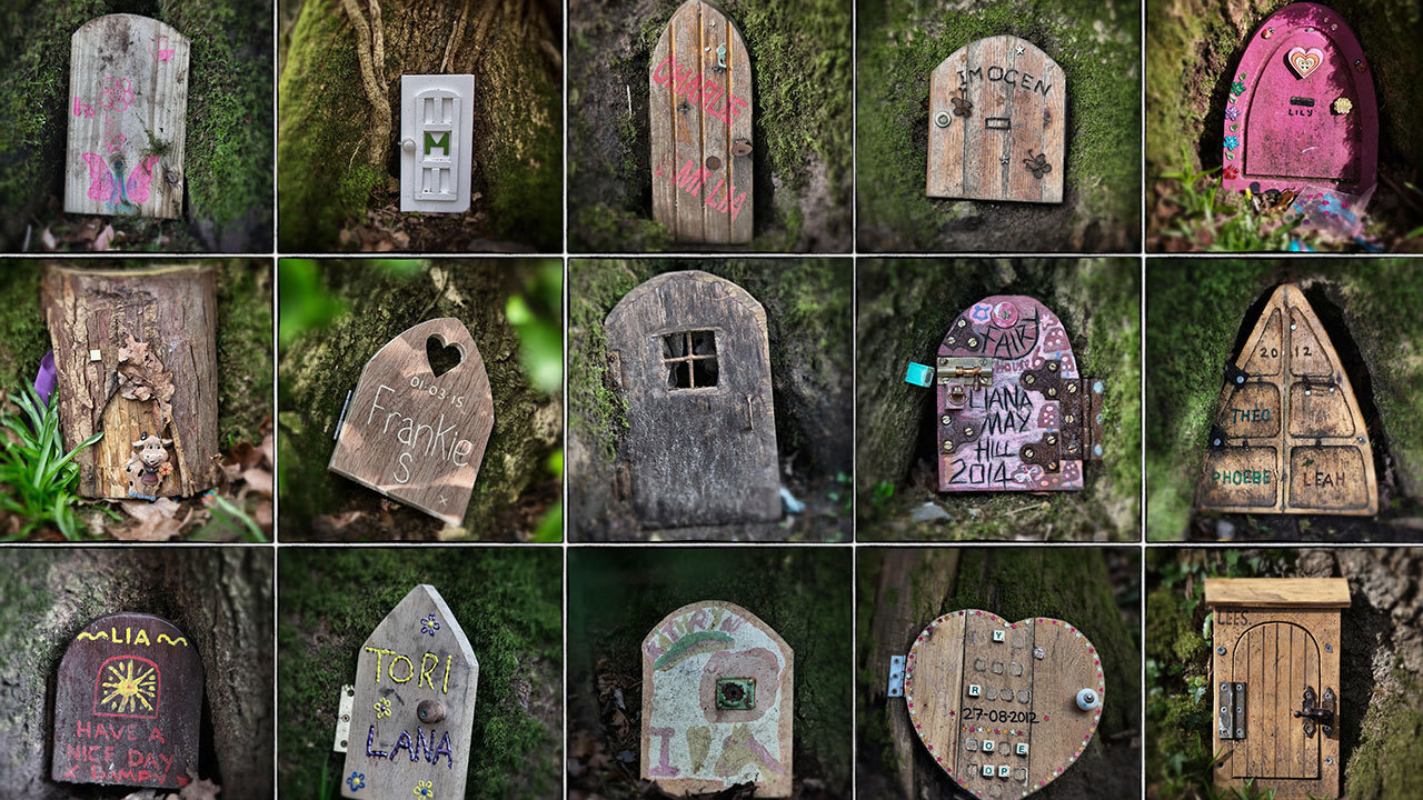 Hidden fairy doors bring magic for Secret fairy doors by blingderella