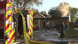 Family of 5 safely escapes house fire