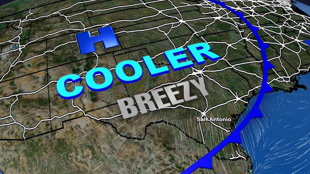 Cold Front Arrives Cool Weekend Ahead