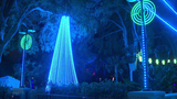 Zoo Lights attract crowd during chilly weather