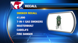 Gas smokers, candles, menorahs recalled